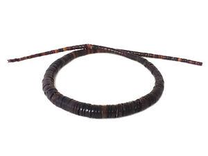 Graduated-Black-Pen-Shell-Heishi-Beads-16-Inches-Strand