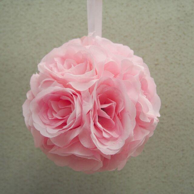 Firefly imports silk flower kissing pomander balls wedding picture 2 of 2 mightylinksfo