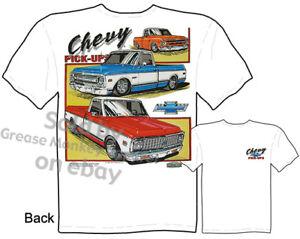 Chevy-1967-1972-Pickup-T-shirt-Truck-T-Shirt-67-68-69-70-71-Tee-M-L-XL-2XL-3XL