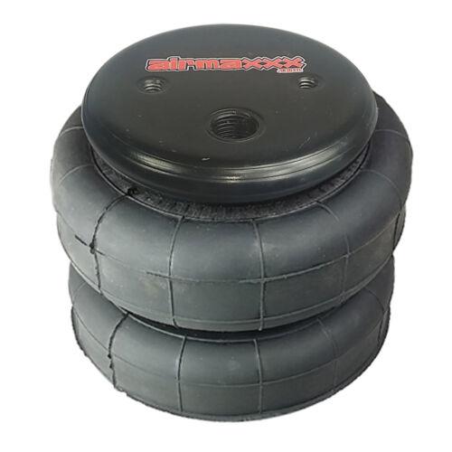 "1 standard 2500 lb air bag suspension part single 1//2/""npt port air spring"