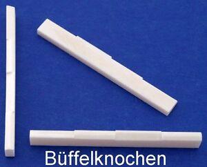 Typ BKU-18 vollkompensiert Knochen-Steg für Ukulele 61 mm