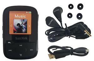 SanDisk-Clip-Sport-Plus-16GB-MP3-Player-FM-Radio-Bluetooth-Water-Resistant-Black