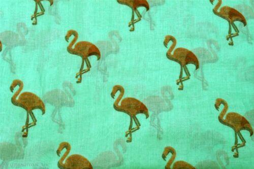 Duck print animal pattern long shawls scarves Kukubird Flamingo