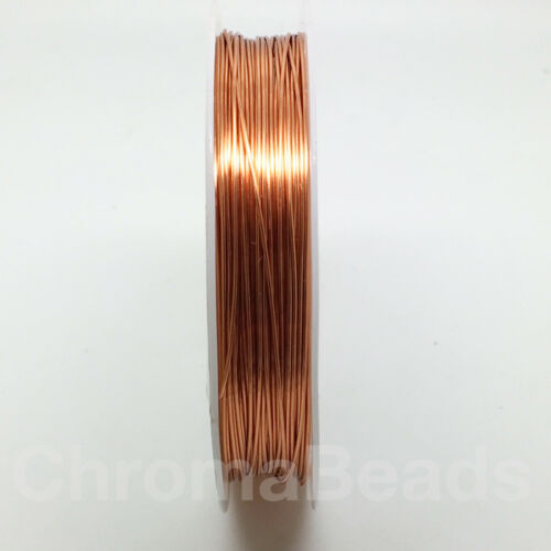 choose colour /& size wirework tiara craft jewellery making Reel of Copper Wire