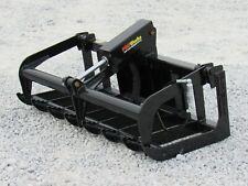54 Heavy Duty Root Grapple Bucket Attachment Fits Toro Dingo Mini Skid Steer