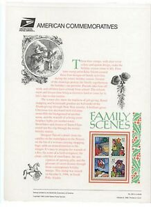 3108-11-32c-Christmas-Family-Scenes-USPS-500-Commemorative-Stamp-Panel