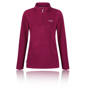 Regatta-Womens-Sweethart-Half-Zip-Fleece-Top-Pink-Purple-Sports-Outdoors