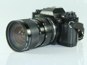 Olympus-OM40-Program-35mm-SLR-Camera-with-Kiron-28-70-3-5-4-5-Macro-Zoom-Lens