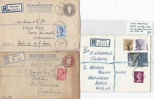 1918-79-3-x-REGISTERED-COVERS-TAUNTON-amp-1-FITZHEAD-SUB-PO-SOMERSET-REGd