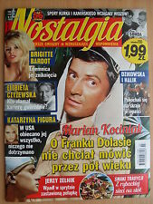NOSTALGIA 3/2016 MARIAN KOCINIAK,Brigitte Bardot,Burt Lancaster,Kasia Figura