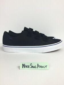 28887dd068af3d Vans Style 23 V Suede Canvas Prison Issue Black White Blue ...