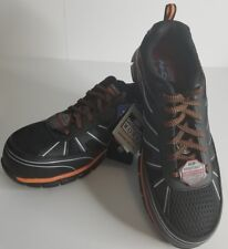 d73529db23d Skechers Men's Work Synergy Fosston Alloy Toe Sneaker 13 M Black/red ...
