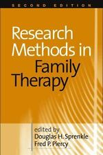 Research Methods in Family Therapy, Second Edition by