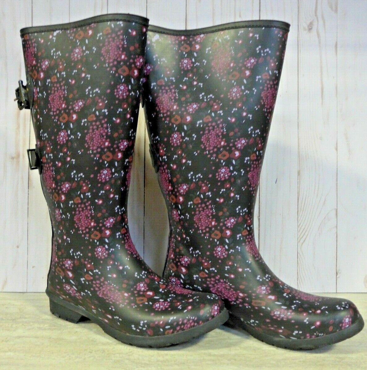 Chooka Women's Versa Shea Rain Boots Multicolor READ DESCRIPTION (XM240)