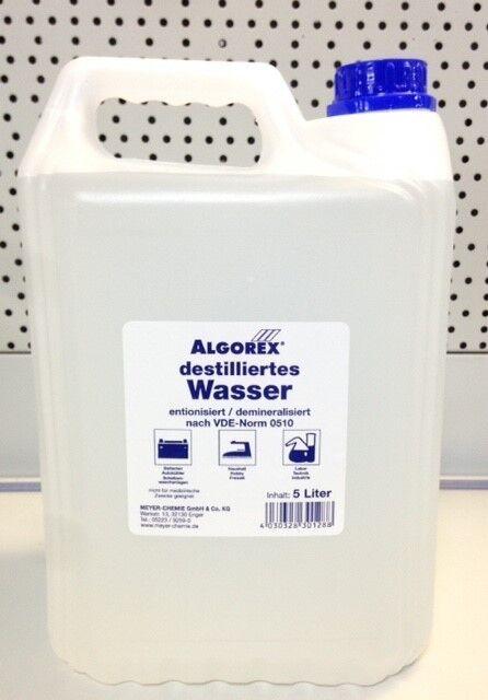 3x Destilliertes Wasser 5l Kanister Ebay