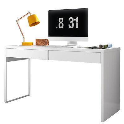 Mesa ordenador para despacho, escritorio o oficina estudio Blanco Artik, Touch