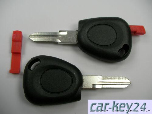Renault Espace Clio I II Twingo Laguna Clio Fernbedienung Schlüssel Rohling Neu