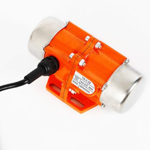 40w//50w//100w ac vibración motor Asynchronous 1 fase vibración motor 3000rpm nuevo