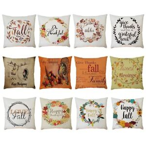 Home-Car-Bed-Sofa-Decorative-Letter-Pillow-Case-Cushion-Cover-Home-Decor
