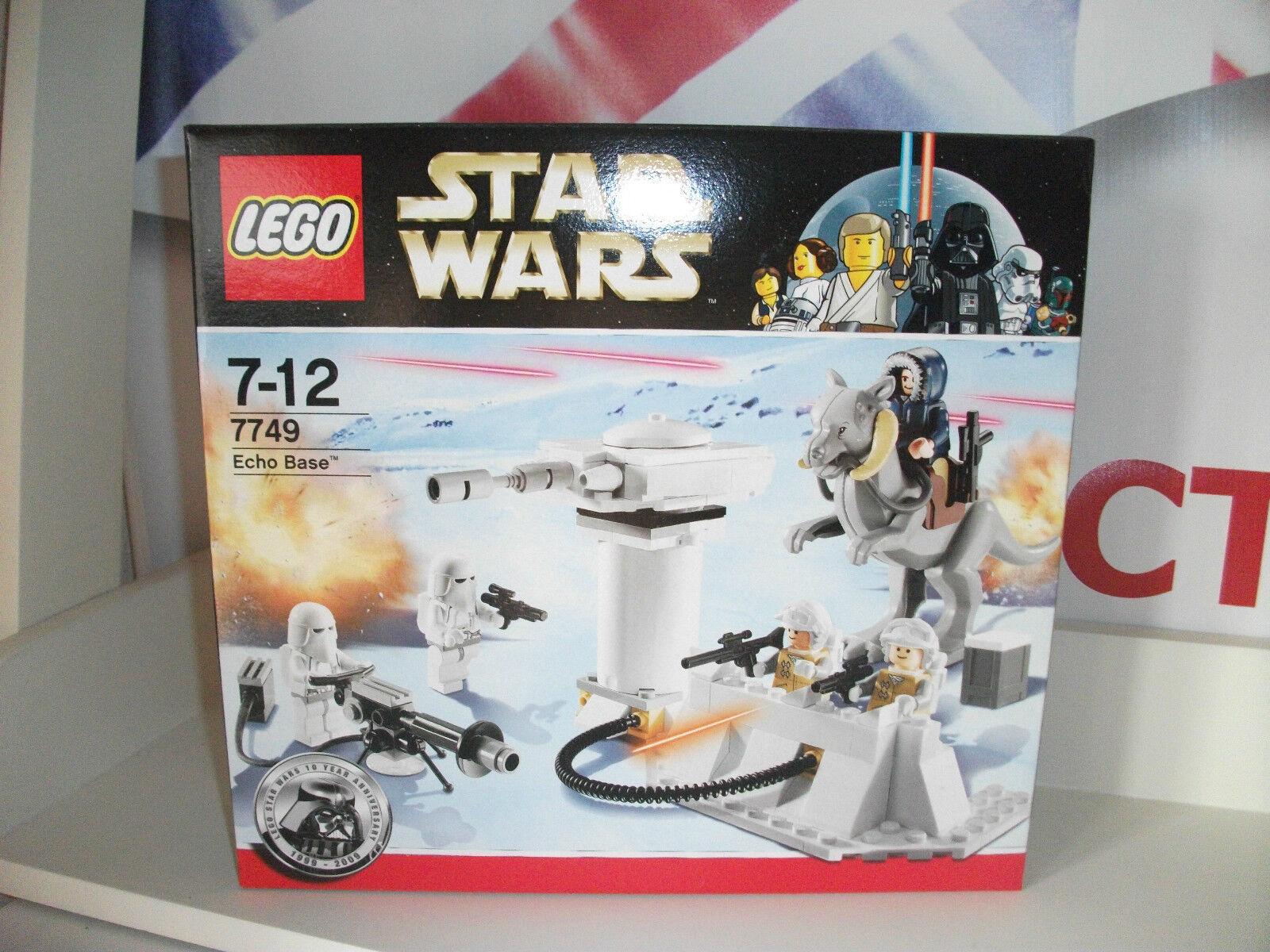 Star wars lego ECHO BASE BASE BASE snowtrooper han solo NEW MINT IN BOX. postage discoun baed91