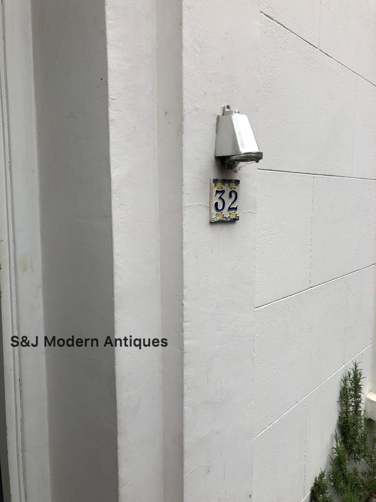 Davey & Co PARATIA Industriale Luce Parete Vintage Antico Lampada Lampada Lampada da nave in ottone oro 4dc7d4