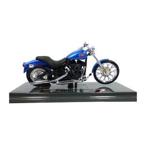 Maisto-39360-Harley-Davidson-2002-FXSTB-TREN-DE-NOCHE-AZUL-1-18-MOTO-NUEVO