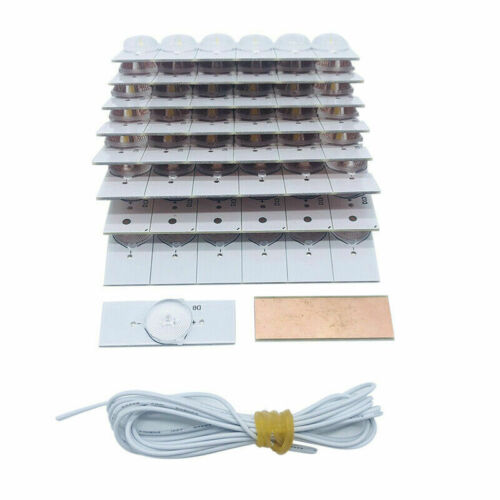Ultra Bright Lamp Beads with Optical Lens Fliter For 32-65 inch LED TV Repair