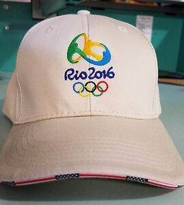 Celebrate Team USA Rio 2016 Olympics & Elegant Personalized Cap Embroidered
