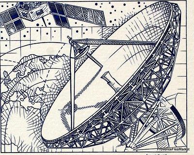 Cnes Zentrum Raum Frankreich Philatelistische Dokument Offiziell 1982 Briefmarken