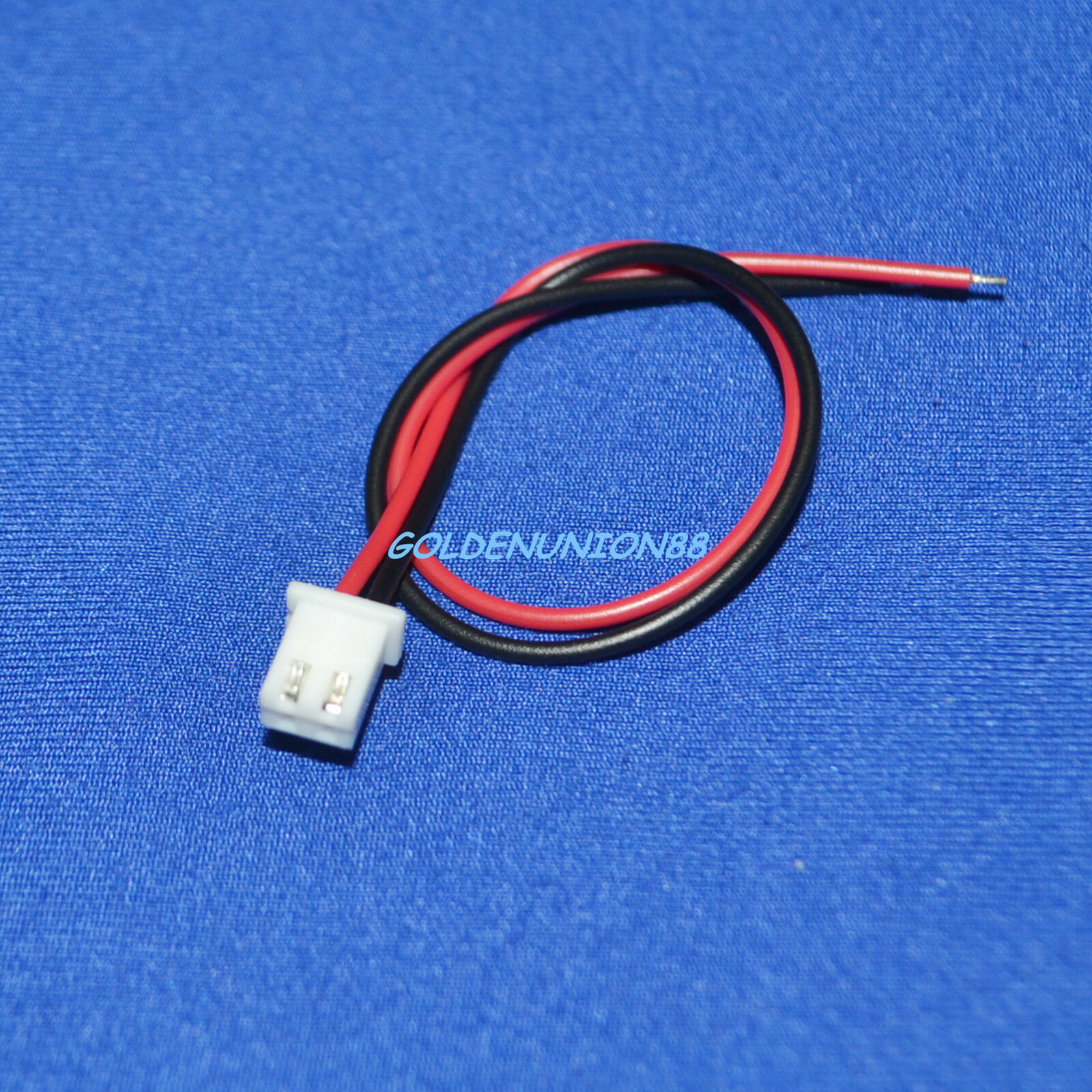 JST XH 2pin connector with 150mm long UL1007 24AWG Wire for battery pack DIY