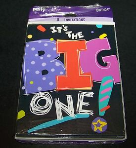 Image Is Loading It 039 S The Big One Birthday Party