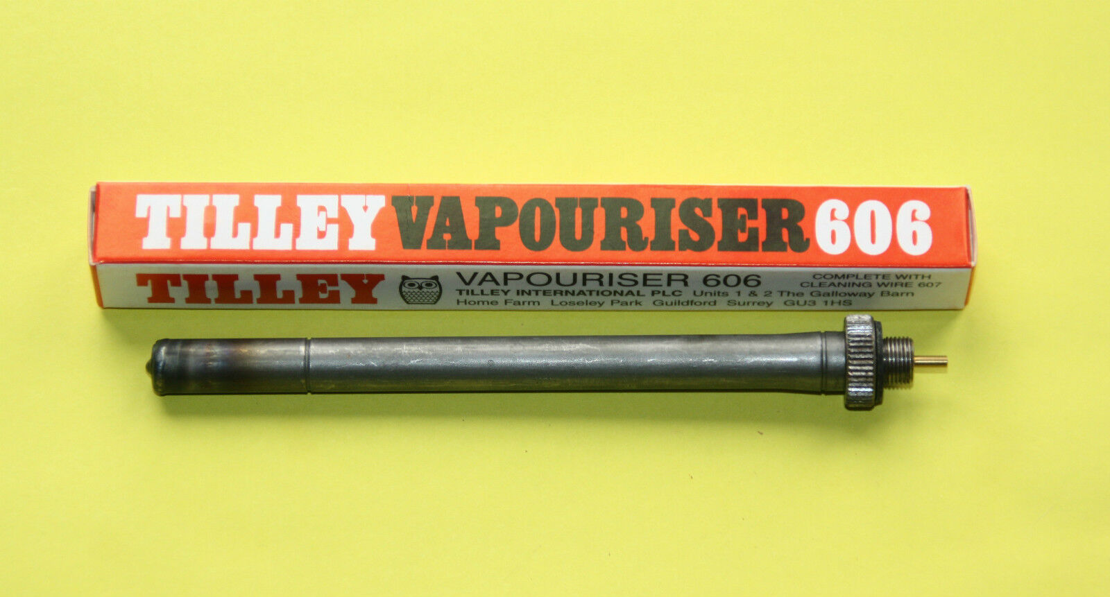 Genuine New Tilley  606 5  vapouriser with cleaning wire for lanterns lamp  sale online