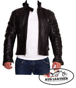 Mens-leather-jacket-motorcycle-jacket-Scooter-RETRO-039-MEN-fashion-jacket-3IN-1