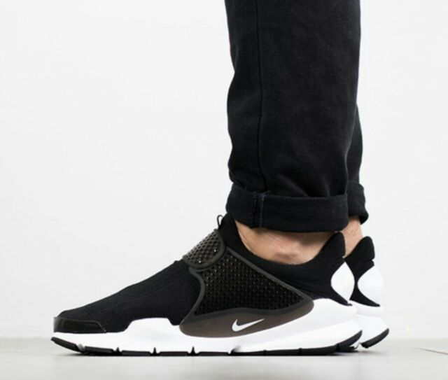 sports shoes 16551 ad720 SIZE 12 MEN S Nike Sock Dart KJCRD 819686 005 black white RUNNING CASUAL  COMFORT