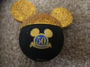 Disney-50th-Anniversary-Gold-and-Black-Car-Antenna-Topper