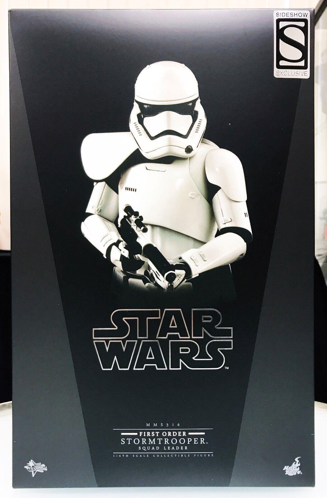 Caliente giocattoli  estrella guerras Force Awakens primero Order Stormtrooper Squad Leader Exclusive  presa