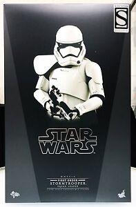 Hot Toys Star Wars Force Awakens Chef du groupe Stormtrooper de premier ordre Exclusif