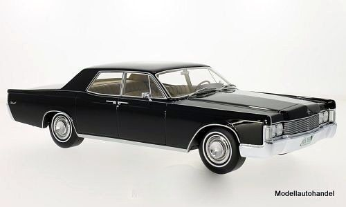Lincoln Continental berlina, Nero, 1968 1:18 BOS