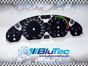 Tachoscheiben-fuer-Tacho-BMW-E46-3er-300kmh-M3-ORG-DISPLAY-COLORED