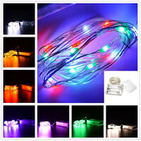 2/5M Battery Operated Xmas String Fairy Lights Party Wedding Christmas Decor
