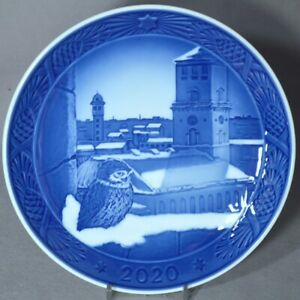 ROYAL COPENHAGEN 2020 Christmas Plate – New in Box! Church of Our