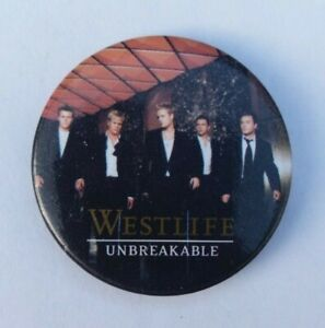 WESTLIFE-2003-UNBREAKABLE-CONCERT-TOUR-BADGE-PIN