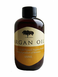 pure organic marokkanisches argan l 100ml f r haare haut und n gel 792273259963 ebay. Black Bedroom Furniture Sets. Home Design Ideas