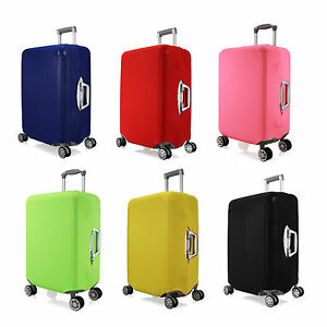 Stretchy-Travel-Luggage-Suitcase-Multi-Size-Spandex-Cover-Protector-Solid-Style