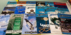 Lot-of-18x-The-Aeroplane-Rare-1940s-1960s-Vintage-Flight-Magazines