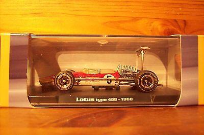 1/43 1968 Rba Lotus Type 49b Graham Hill 1968 Campione Del Mondo-mostra Il Titolo Originale