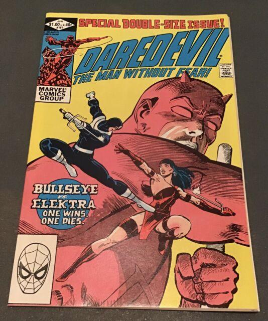 Daredevil #181 Comic Book Marvel Comics 1982, NM+ Frank Miller Death Of Elektra