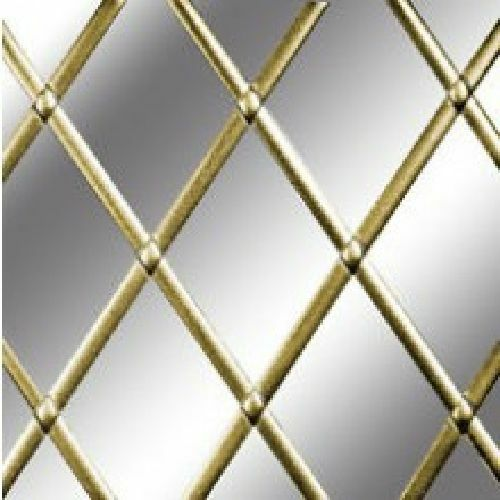 Self Adhesive Lead Strip for Windows 9mm x 10m Brass Finish