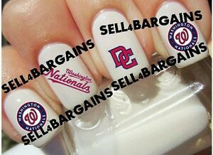 Flash salemlb washington nationals baseball logostattoo nail image is loading flash sale mlb washington nationals baseball logos tattoo prinsesfo Choice Image