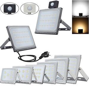 Projecteur-LED-10W-500W-avec-detecteur-Exterieur-Jardin-Spotlight-Lampe-Etanche